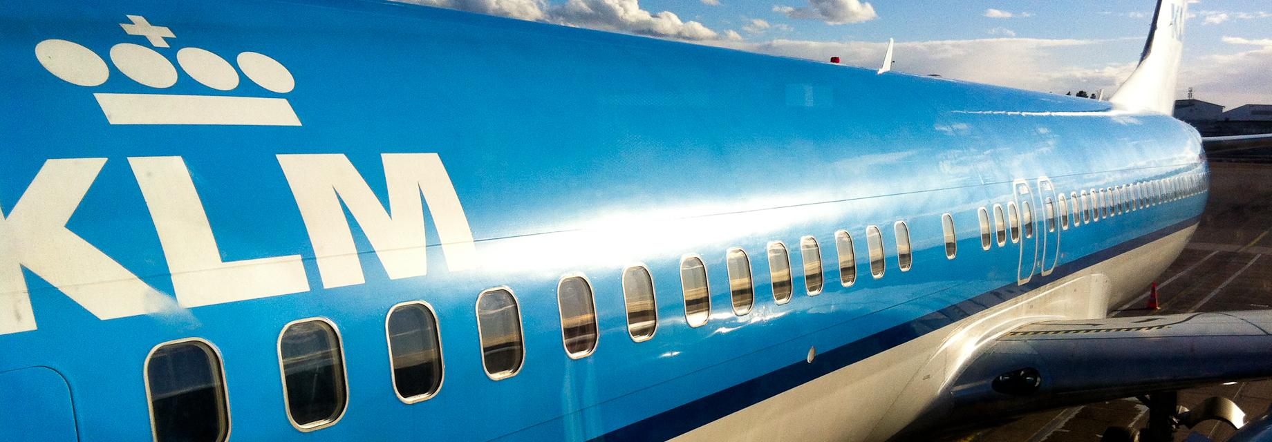 Unterwegs mit KLM