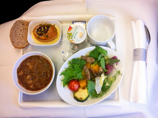 Lufthansa Business Class Review Okoberfestwochen