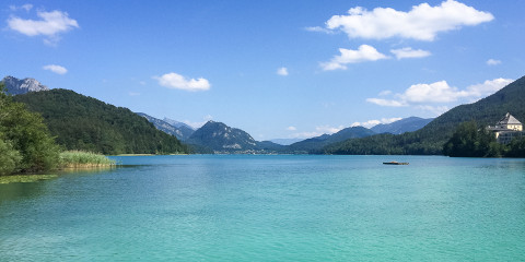 Gastbeitrag: Glasklar und grell türkis – Der Fuschlsee in Österreich